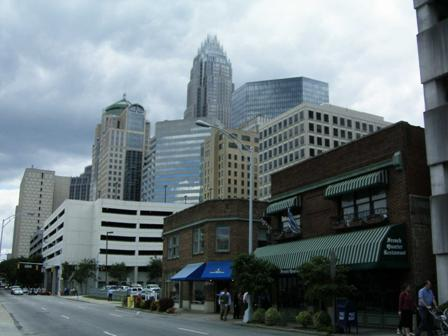 uptown charlotte north carolina pictures